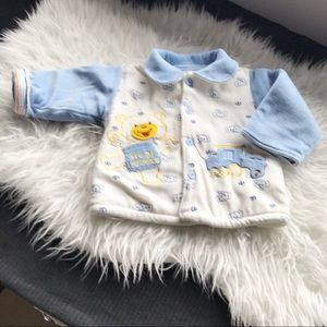 🎈5/$25 THICK COTTON FLANNEL JACKET 12 MOS VGUC